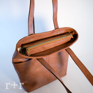Tall Tote - Rustic Brown