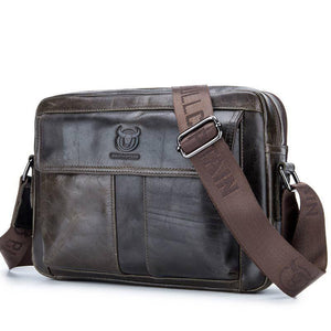 Nexor Leather Messenger Bag