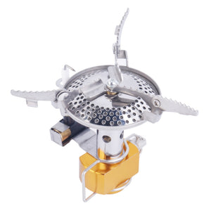 Portable Outdoor Picnic Gas Stove burners Foldable Camping Hiking Essentials Tools Outdoor Equipments Automatic new