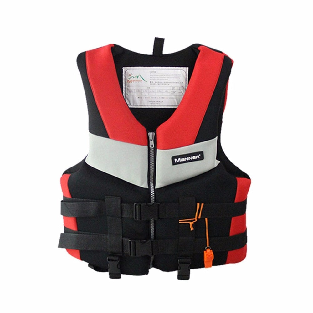 Wholesale Adults Life Jacket Professional Universal Swimming Boating Skiing Drifting Fishing Foam Vest Thickened Life Vest