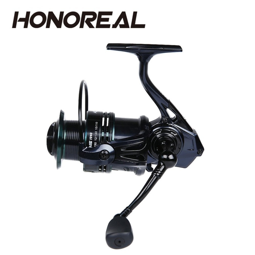 2000-5000 Lightweight Double Color Metal Body 6.3:1 Spinning Reel High Speed 9+1Outdoor Casting Fishing Reel Fishing Accessories