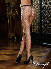 Black Stay-up Fence net Stockings