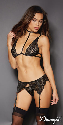 Black Lace 3PC Set