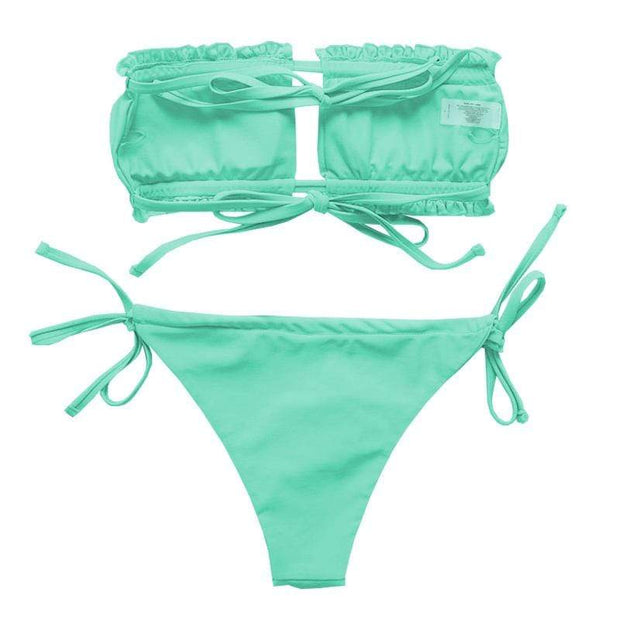 BISOUS WEAR AINSLEY SET- GREEN