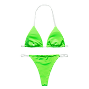 BISOUS WEAR LUCIA BIKINI SET- NEON GREEN
