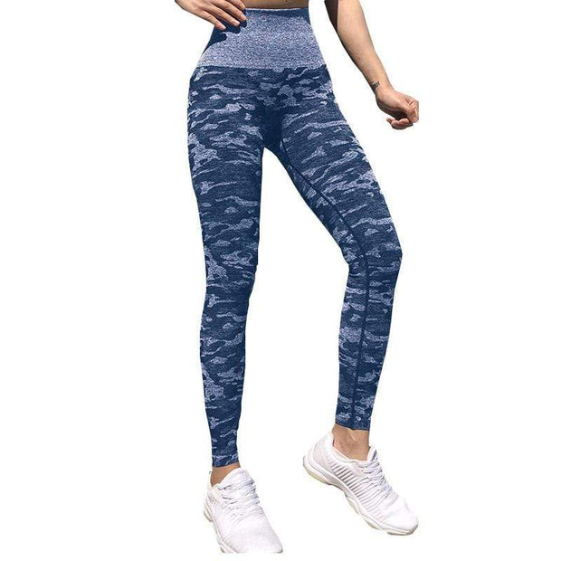 BISOUS WEAR MEDIUM / BLUE ANJA LEGGINGS