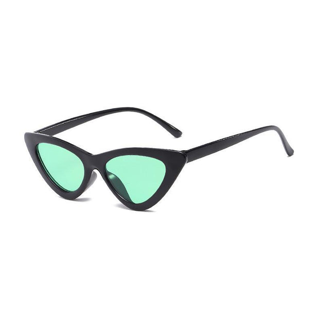 BISOUS WEAR One Size / BLACK/GREEN BRISBANE SUNNIES- BLACK/GREEN