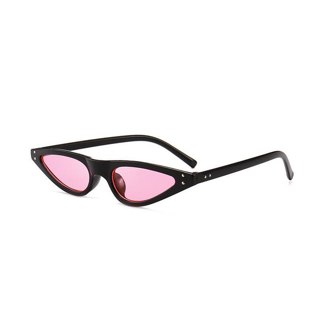BISOUS WEAR One Size / BLACK/PINK ACADIA SUNNIES- BLACK/PINK