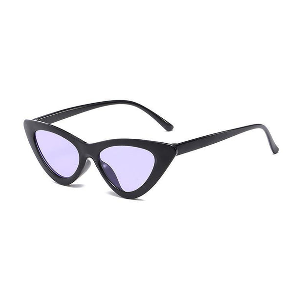 BISOUS WEAR One Size / BLACK/PURPLE BRISBANE SUNNIES- BLACK/PURPLE