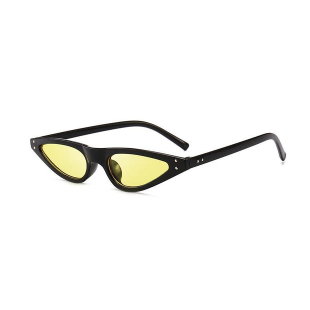 BISOUS WEAR One Size / BLACK/YELLOW ACADIA SUNNIES- BLACK/YELLOW