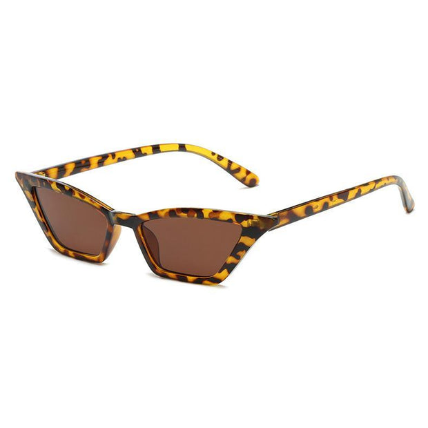 BISOUS WEAR One Size / GREY/SILVER CALIFORNIA SUNNIES - LEOPARD