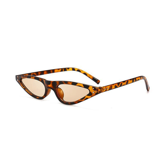 BISOUS WEAR One Size / LEOPARD ACADIA SUNNIES- LEOPARD