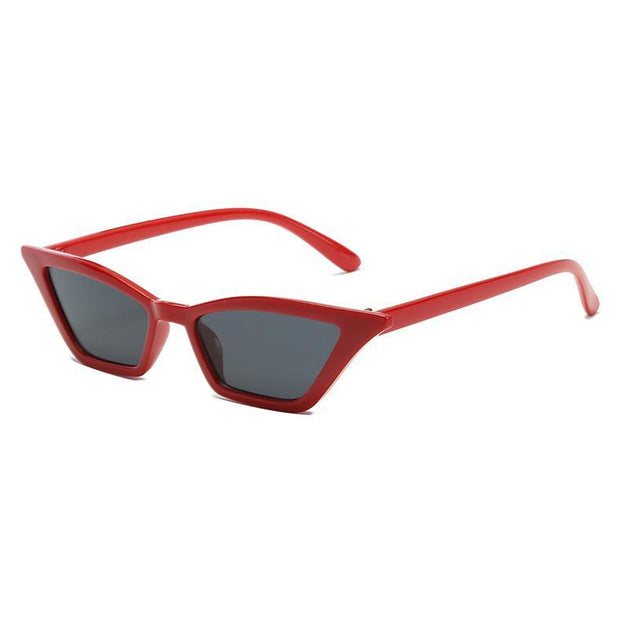 BISOUS WEAR One Size / RED/GREY CALIFORNIA SUNNIES - RED/GREY