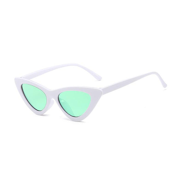 BISOUS WEAR One Size / WHITE/GREEN BRISBANE SUNNIES- WHITE/GREEN