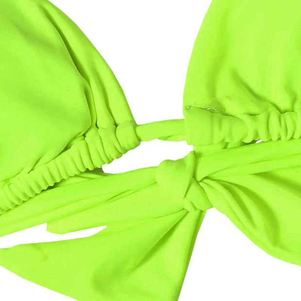 BISOUS WEAR SIERRA BIKINI SET- NEON GREEN