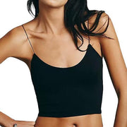 BISOUS WEAR small / black ALINA CROP TOP