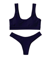 BISOUS WEAR SMALL / BLACK RIVA SET