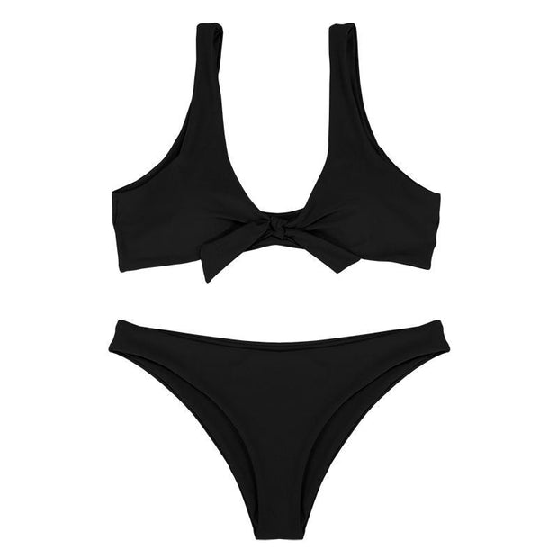 BISOUS WEAR Small / Black SHEILA SET - BLACK