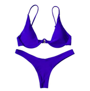 BISOUS WEAR Small / blue BREA SET