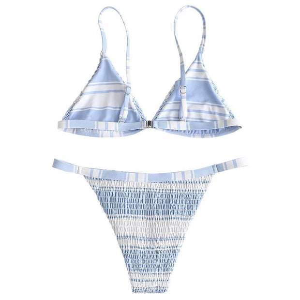BISOUS WEAR Small / Blue CAICOS SET