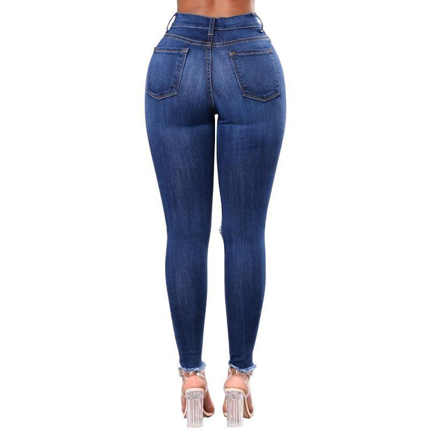 BISOUS WEAR SMALL / BLUE GRACIE JEANS - BLUE
