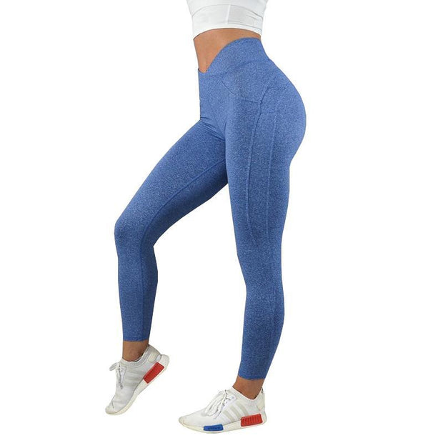 BISOUS WEAR Small / Blue HENRIE LEGGINGS