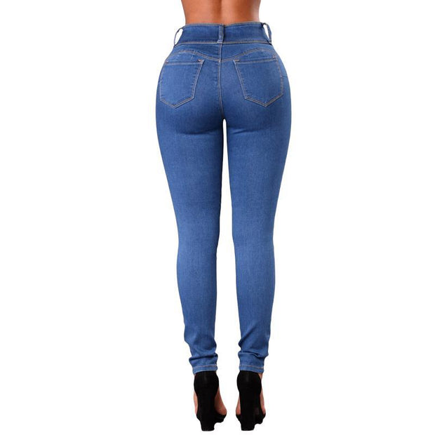 BISOUS WEAR SMALL / BLUE OLIVIA JEANS - BLUE