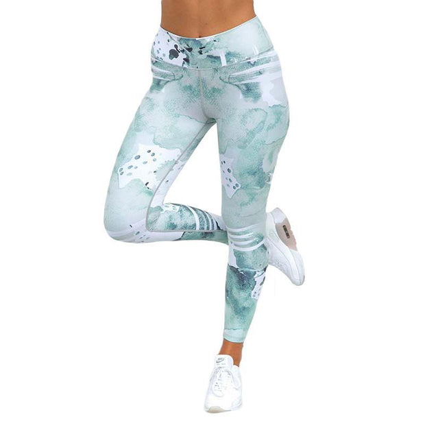 BISOUS WEAR SMALL / BLUE RENA LEGGINGS