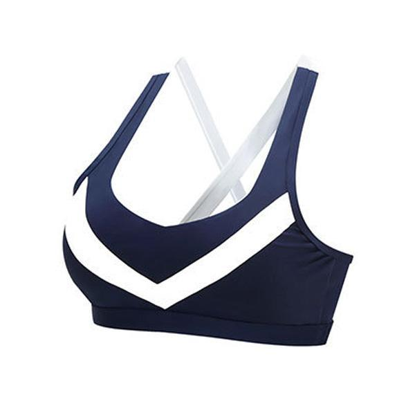 BISOUS WEAR SMALL / BLUE RILEY SPORTS BRA