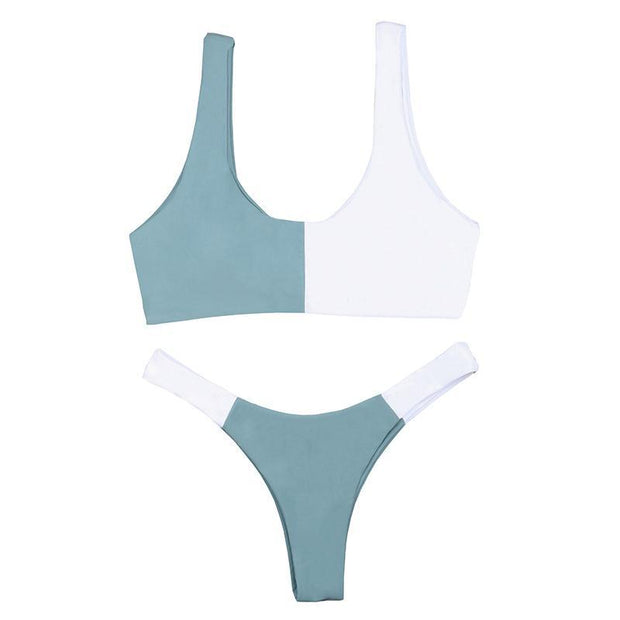 BISOUS WEAR SMALL / BLUE/WHITE ELSA SET- BLUE/WHITE