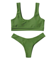 BISOUS WEAR SMALL / GREEN RIVA SET