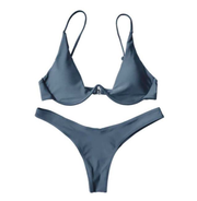BISOUS WEAR small / grey BREA SET