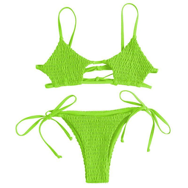 BISOUS WEAR SMALL / LIME BRIAR SET- LIME