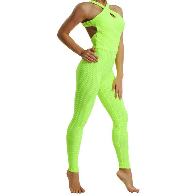 BISOUS WEAR Small / Lime Green MELROSE LEGGING SET