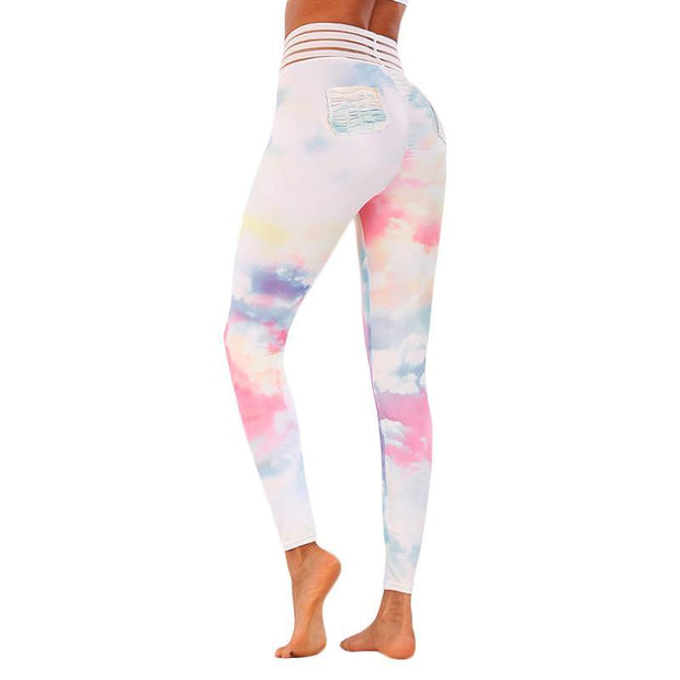 BISOUS WEAR Small / Multi EDEN LEGGINGS