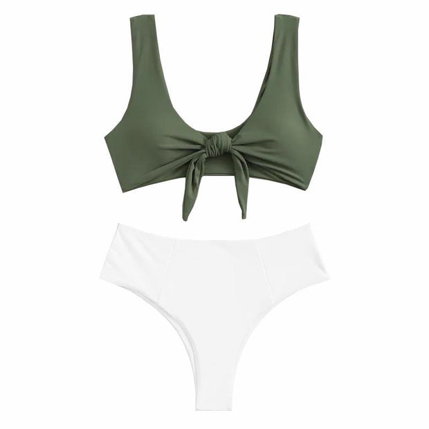 BISOUS WEAR SMALL / OLIVE ALIA SET - OLIVE