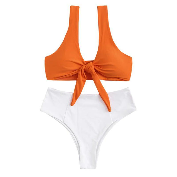 BISOUS WEAR SMALL / ORANGE ALIA SET - ORANGE