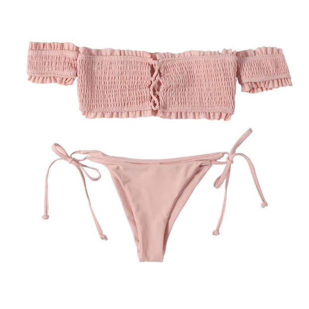 BISOUS WEAR SMALL / PINK ASHTON SET-PINK