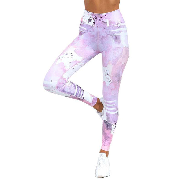 BISOUS WEAR SMALL / PINK RENA LEGGINGS