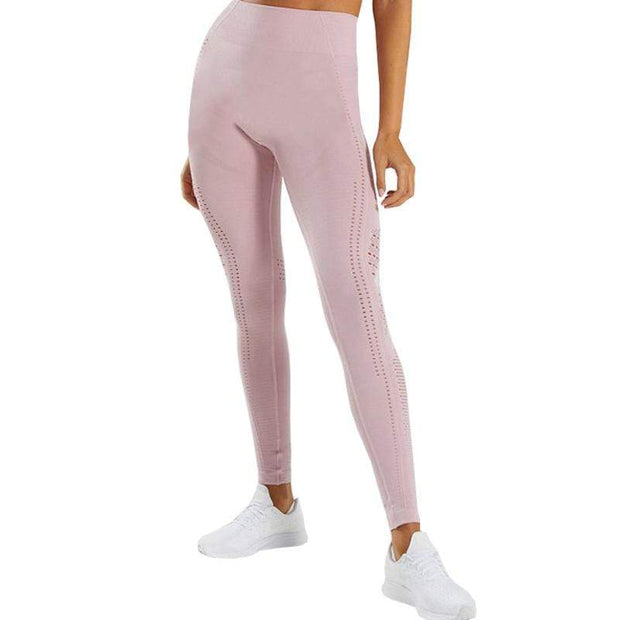 BISOUS WEAR SMALL / PINK ROSE AMIRA LEGGINGS