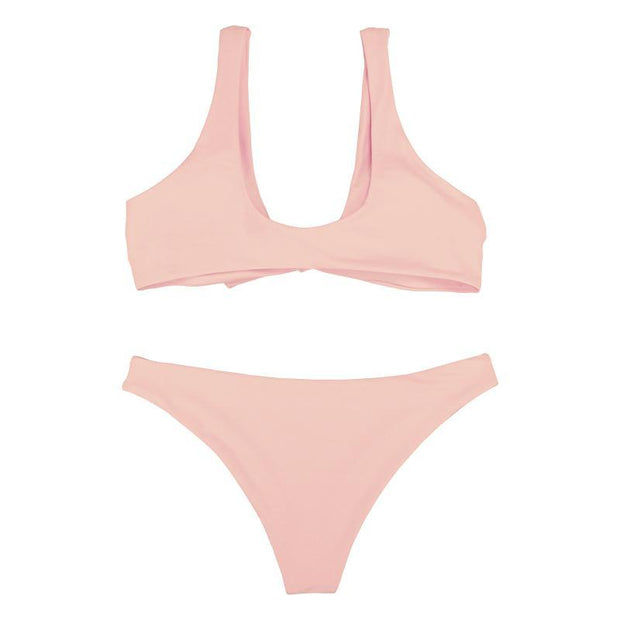 BISOUS WEAR Small / Pink SHEILA SET - PALE PINK