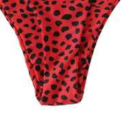 BISOUS WEAR SMALL / RED AMINA SET- RED