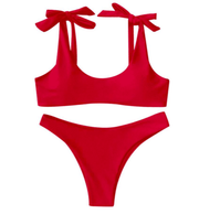 BISOUS WEAR SMALL / RED LILA SET