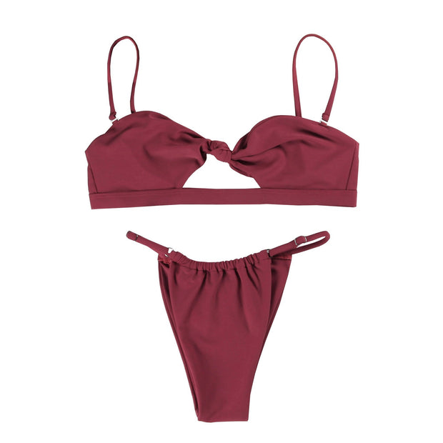 BISOUS WEAR Small / Red MERIDA SET - RED