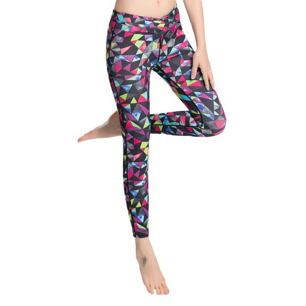 BISOUS WEAR SMALL / RED/MULTI FRANKIE LEGGINGS