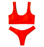BISOUS WEAR SMALL / RED RIVA SET