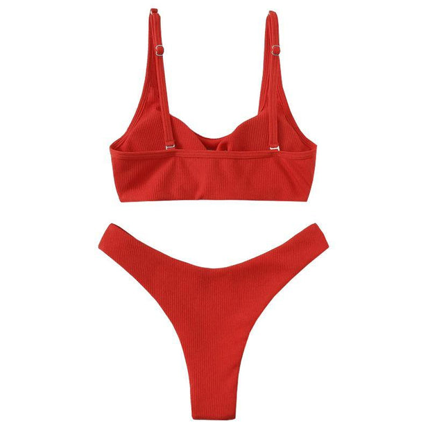 BISOUS WEAR Small / RED RUBY SET