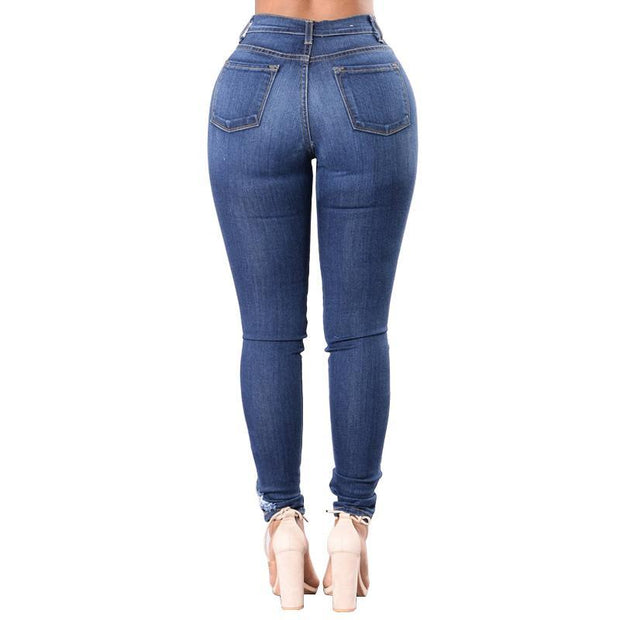 BISOUS WEAR SMALL / SKYBLUE GRACIE JEANS - SKY BLUE