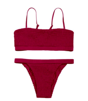BISOUS WEAR SMALL / WINE AUDRA SET