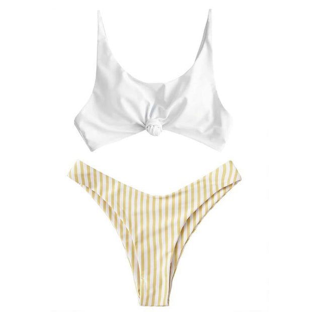 BISOUS WEAR SMALL / YELLOW CATERINA SET- YELLOW